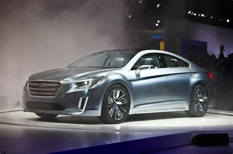 subaru concept 2015 subaru legacy concept revealed before los angeles