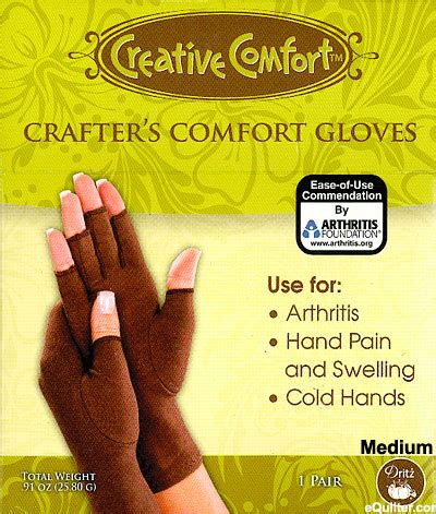 creative comfort creative comfort crafter s glove large bryson distributing