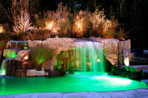 Backyard Pool Lighting Outdoor Swimming Pool Lighting Design Bill House Plans