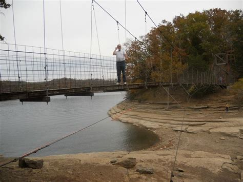 swinging bridge lake marina the swinging bridge at dale hallow lake near celina tn
