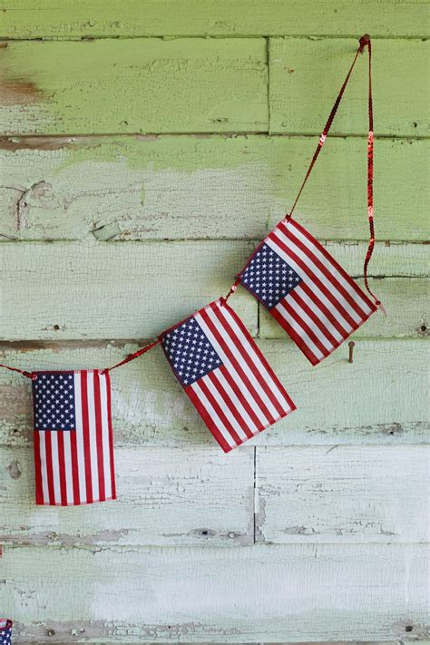 Diy Bunting Flag 1 diy american flag bunting the sweetest occasion