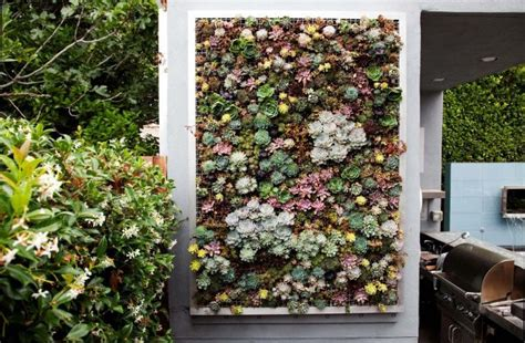 how to make a living wall garden design decoration