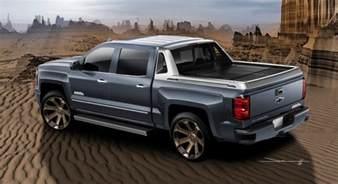 Chevrolet Silverado Truck 2017 Chevrolet Silverado High Desert Concept Info Gm