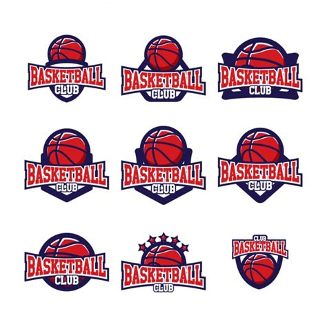 Basketball Logo Templates Design Vector Free Download Basketball Team Logo Template