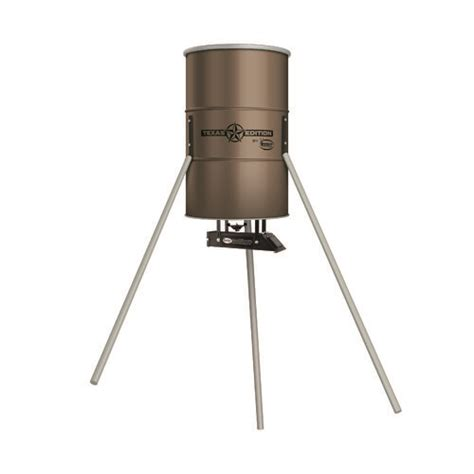 Clearance Deer Feeders American Edition 350 Lb Tripod D8 Wildlife