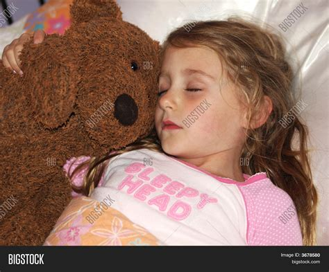 girls naked in bed little girl sleeping image photo bigstock