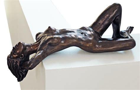 Reclining Girl Eva Ermer Sculptor