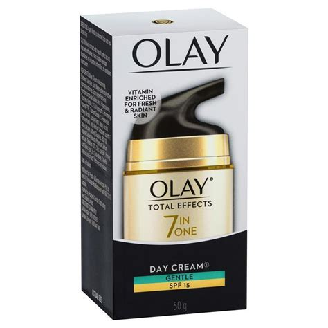 Olay Total Effects Day Gentle Spf 15 olay total effects moisturiser gentle spf 15 50g chemist warehouse