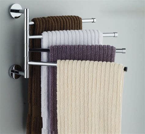 Bathroom Towel Racks Ideas by Amazonsmile Bekith Wall Mounted Stainless Steel Swing