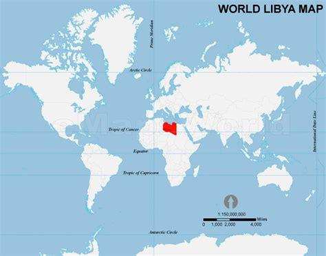 libya on the world map libya location map location map of libya