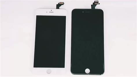 Touchscreen T1g Plus Black White black white for iphone 6 plus lcd touch screen display