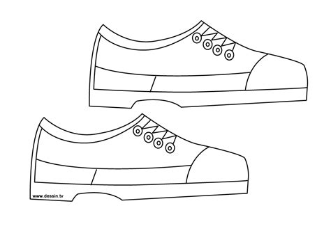 Free Coloring Pages Of Drawing Of Shoes Shoe Coloring Pages
