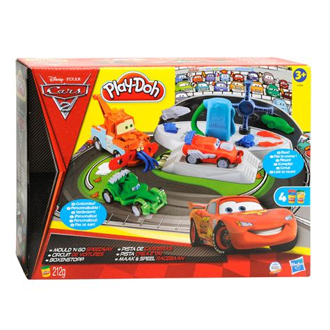 Play Doh Cars B7492 5 play doh cars 2 racebaan kopen lobbes nl
