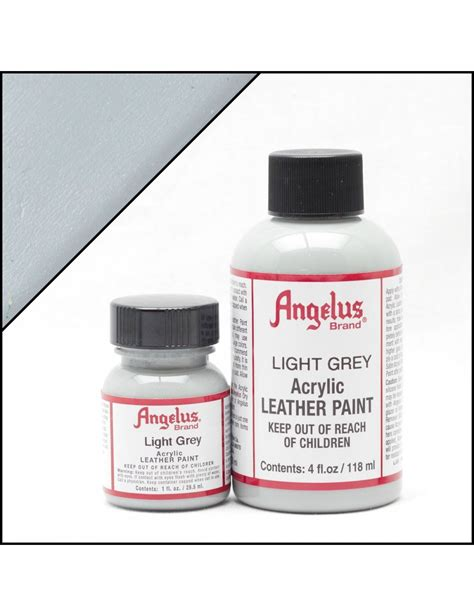 angelus paint wolf grey angelus dyes paint light grey 4oz leather paint