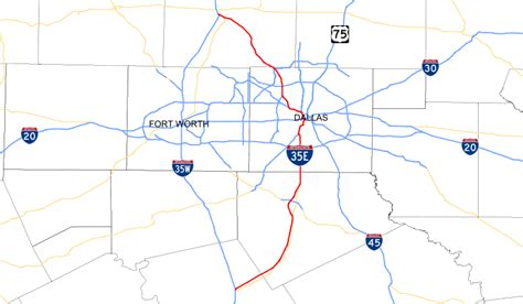 texas interstate map file interstate 35e map texas svg wikimedia commons