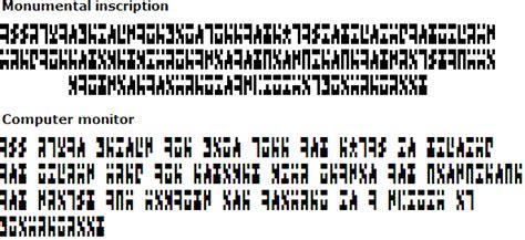 the ancients alphabet
