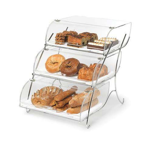 rosseto bak2944 3 tier countertop bakery display