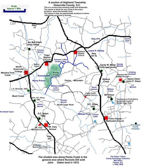map of greenville carolina cities in greenville county south carolina
