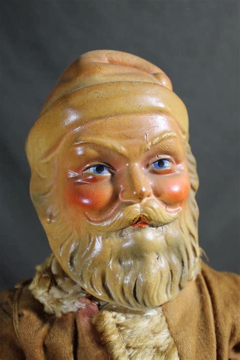 composition santa doll antique circa 1930s composition santa claus doll no