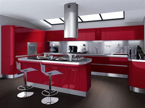 cucina e rossa cucina rossa e idea creativa della casa e dell