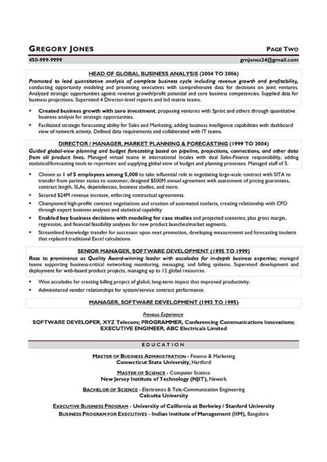 quantitative finance resume exle