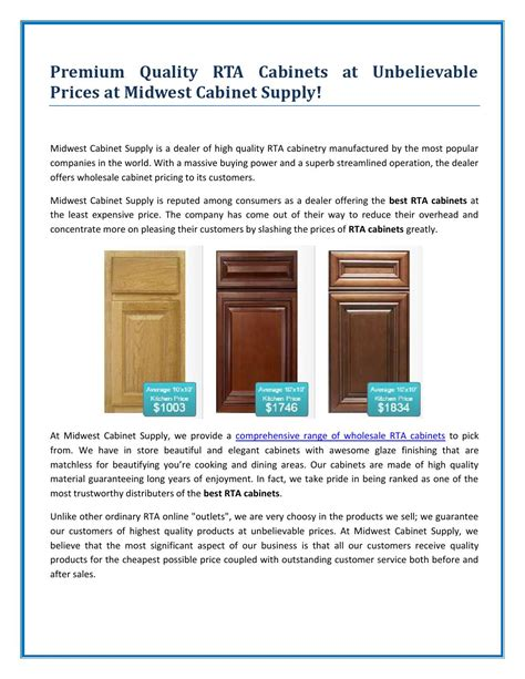 are rta cabinets quality quality rta cabinets by midwest cabinet supply by mid