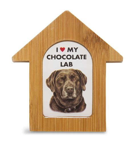 dog house for labrador chocolate lab wooden dog house magnet 3 5 x 3 in self standing