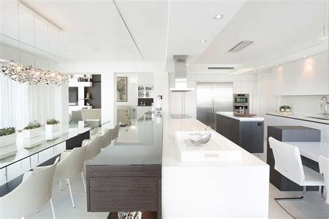 magazine design jobs fort lauderdale waterfront penthouse by dkor interiors featured on
