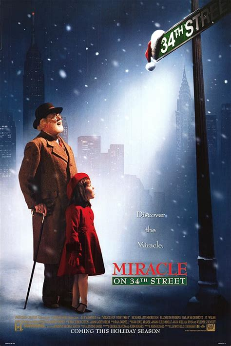 miracle on 34th street 1994 miracle on 34th street movie posters at movie poster