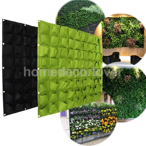 wall hanging indoor herb garden 72 pockets hanging garden wall flower planter bag indoor