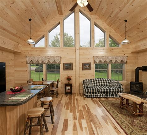 great home interiors log cabins pennsylvania maryland and west virginia