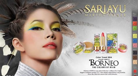 Make Up Sariayu alam papua inspirasi tren make up sariayu 2015 okezone lifestyle