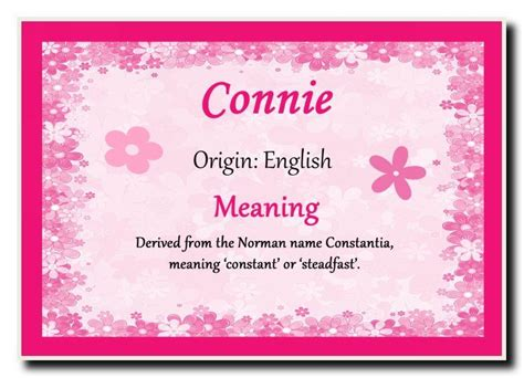 Significance Of L by Connie Personalised Name Meaning Jumbo Magnet Ebay