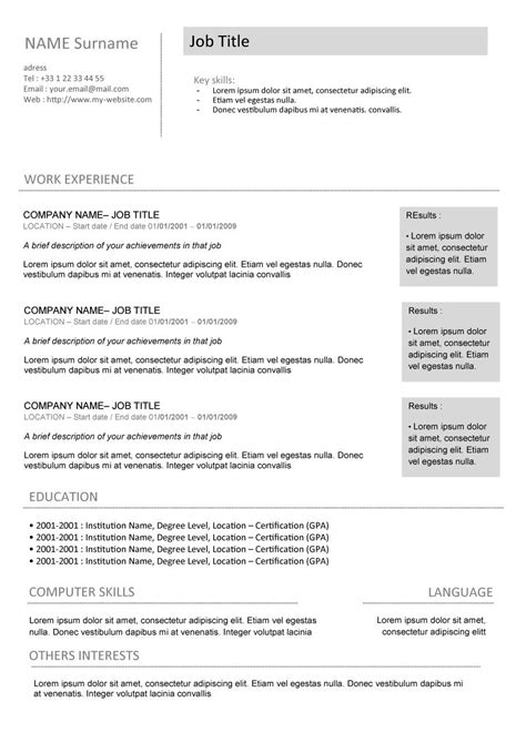 fbi resume objective statement build a free printable resume writing a resume for a