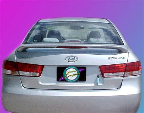 Hyundai Sonata Spoiler by Hyundai Sonata Painted Rear Spoiler Wing Fits 2006 2010