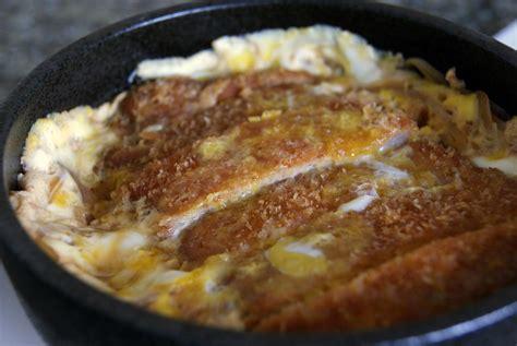 Cold Comfort Katsudon Recipe カツ丼