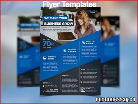 What Is A Flyer Template Ad Template 2017