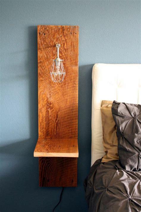table de nuit suspendue installer une table de nuit suspendue pr 232 s de lit