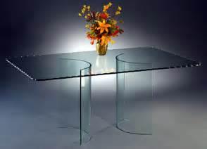 Curved Glass Dining Table Curved Glass Dining Table Bases