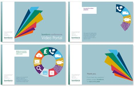 design a logo with powerpoint presentation slides for bombora design pinterest