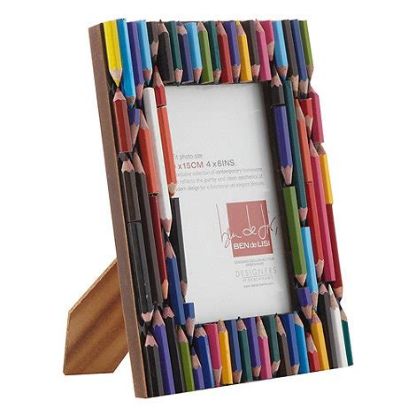 Cute Home Decor Stores by Ben De Lisi Home Brown Small Pencil Covered Photo Frame