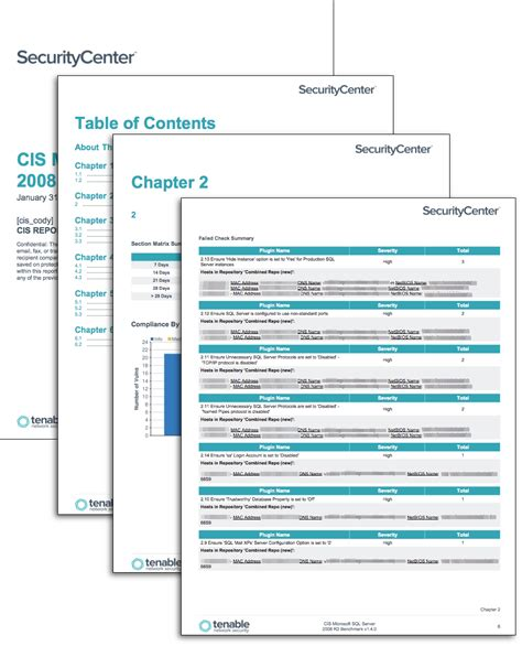 Cis Report Template Cis Microsoft Sql Benchmarks Sc Report Template Tenable