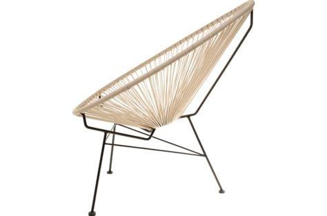 chaise acapulco pas cher fauteuil la chaise longue taupe acapulco fauteuil design