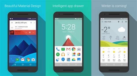 android loader this asap launcher is a fast and material designed home screen