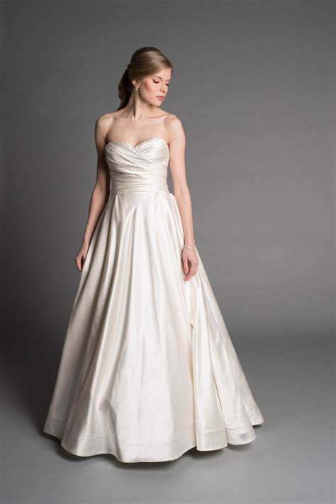 simple ball gown wedding dress kleinfeld bridal