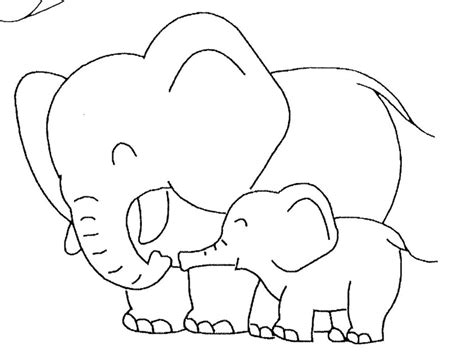 coloring book pages elephant coloring pages cute elephant coloring pages elephant