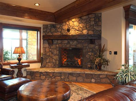 astounding corner fireplace decor fetching stacked