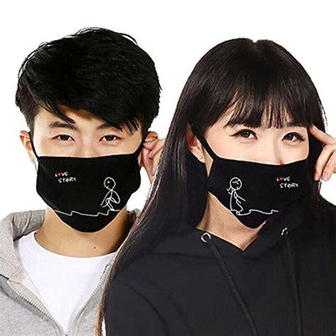 Anting Fashion Korea Ank 107 zwzcyz 2pcs unisex south korean fashion personality cotton anti cold anti