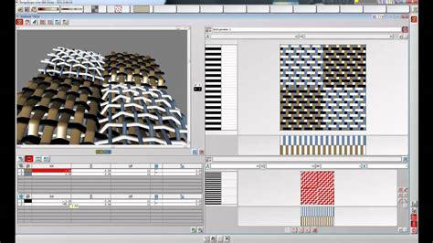 Textile Design by Eat Cad Cam Textile Software 3d Weave Youtube