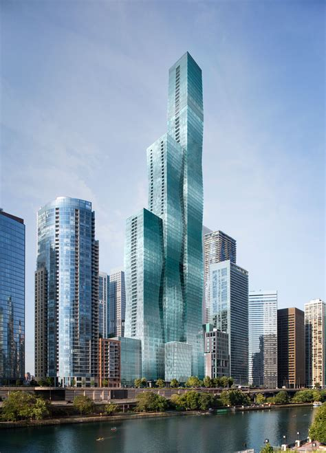 Apartments Downtown La by A Closer Look At Jeanne Gang S Planned 93 Story Vista